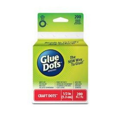 Craft Glue Dots 200 count (GD08165200)