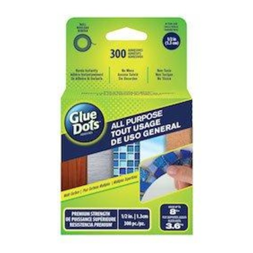 All Purpose Glue Dots - 300 count (GD35340FC)