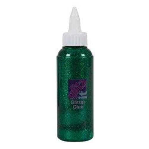 Glitter Glue 120ml - Green (GLT43220)