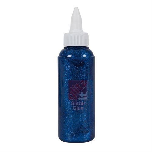 Glitter Glue (120ml) - Royal Blue (GLT43224)