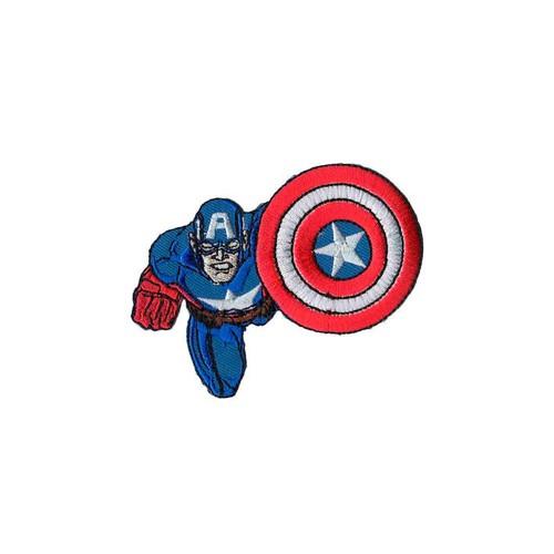 72mm Captain America Motif x 82mm Iron-on (GWAPP33891)