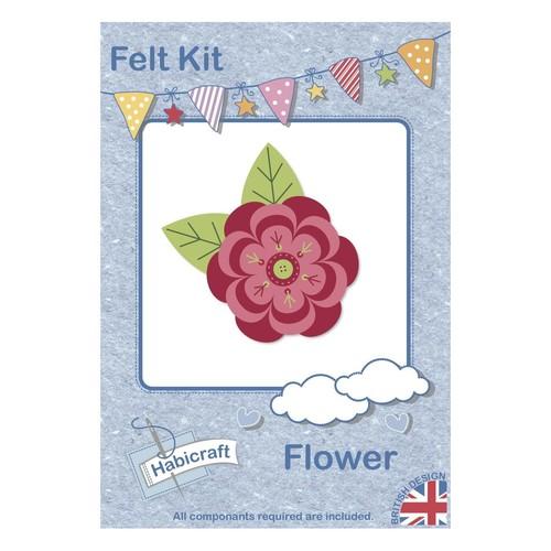 Flower Felt Kit Brooch Habicraft (HFK002)
