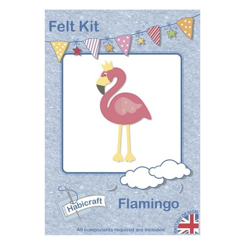 Flamingo Felt Kit Habicraft (HFK003)