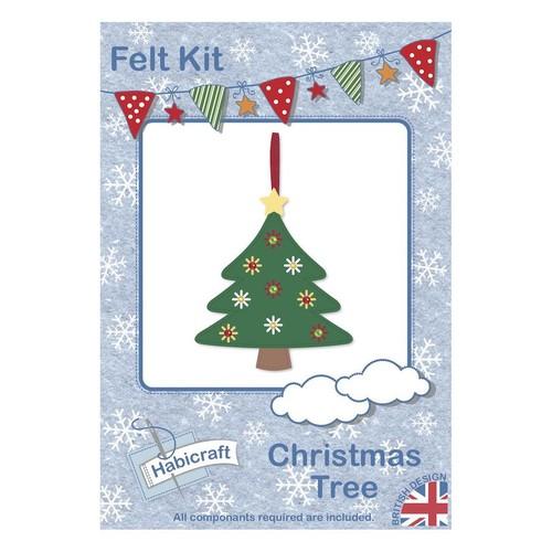 Christmas Tree Felt Kit Habicraft (HFK008)