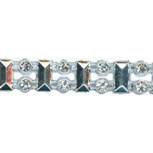 9mm Diamante Trim 5m (HK0811)(White)