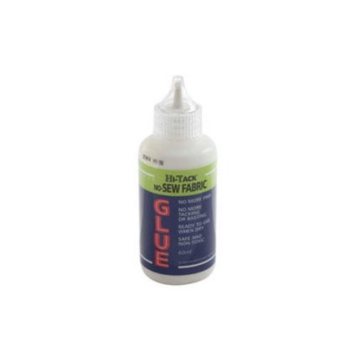 Hi-Tack No-Sew Fabric Glue 60ml (HT1510)