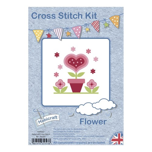Habicraft Cross Stitch Kit Flower (HXK002)