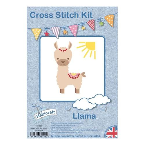 Habicraft Cross Stitch Kit Llama (HXK004)