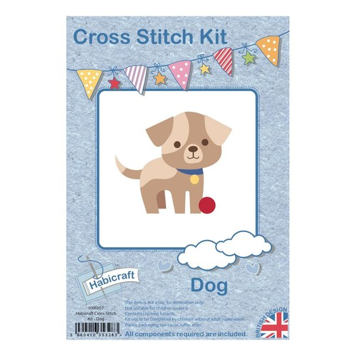Habicraft Cross Stitch Kit Dog (HXK007)