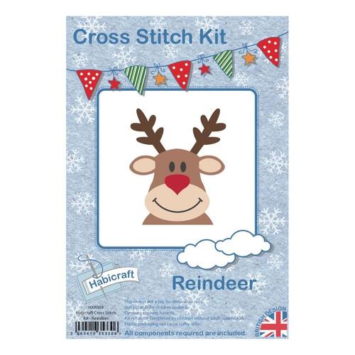 Habicraft Cross Stitch Kit Reindeer (HXK009)