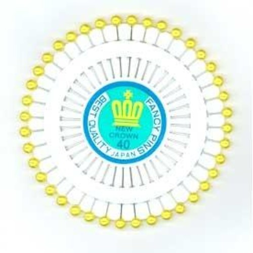 Pin Wheel Pearl All Gold 40 Piece (JTL052)