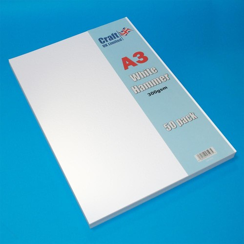 50 x A3 Hammer White (LINE2012)