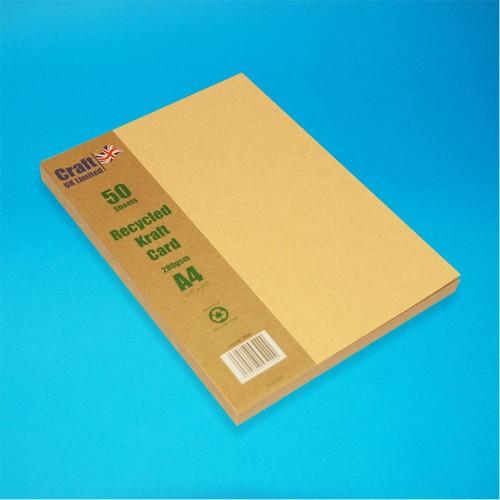 50 x A4 Kraft Recycled (LINE2042)