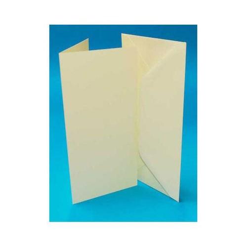 Cards & Envelopes DL Ivory 50 Pack (LINE265)