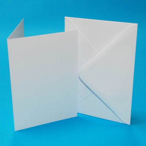 Cards & Envelopes C6 White 50 Pack (LINE273)
