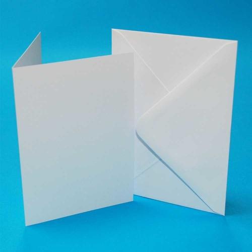 Cards & Envelopes 5 x 7 Inch White 50 Pack (LINE289)