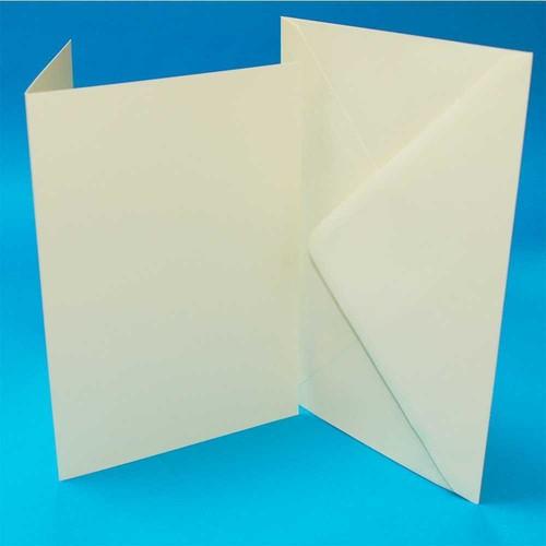 Cards & Envelopes 5 x 7 Inch Ivory 50 Pack (LINE291)