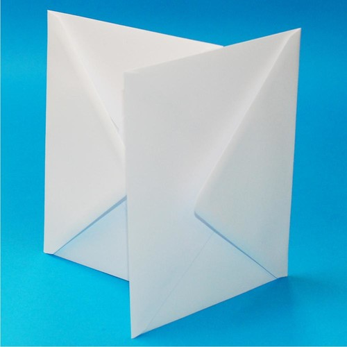 Envelopes C6 White 50 Pack (LINE603)