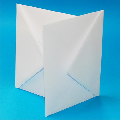 Envelopes 5 x 7 Inch White 50 Pack (LINE605)