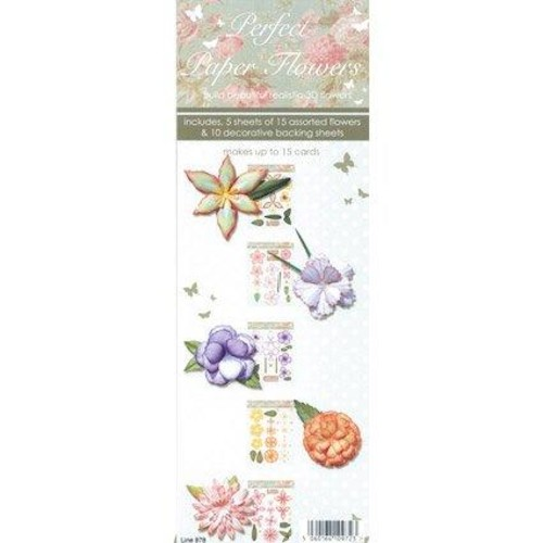 Perfect Paper Flowers 3D Decoupage (LINE978)