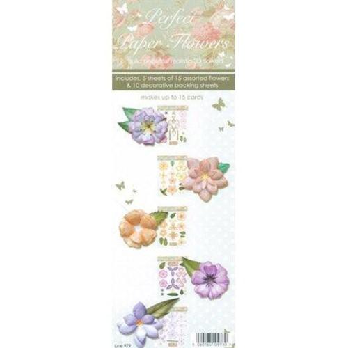 Perfect Paper Flowers 3D Decoupage (LINE979)