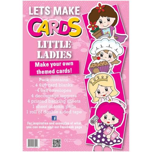 (LMC004) - Let's Make Kit - Little Ladies