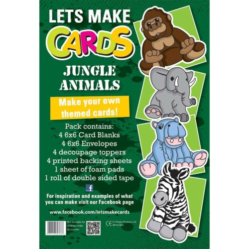 (LMC012) - Let's Make Kit - Jungle Animals 2