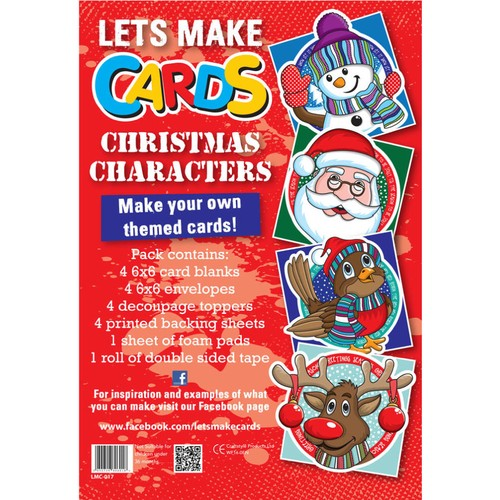 (LMC017) - Let's Make Kit - Christmas Characters