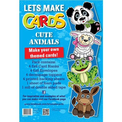 (LMC019) - Let's Make Kit - Cute Animals