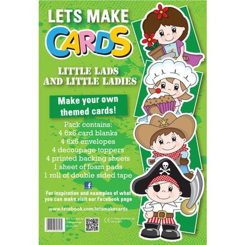 (LMC020) - Let's Make Kit - Little Lads and Little Ladies