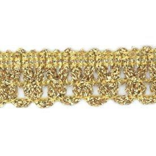 20mm (ML01) Metallic Braid x 25m