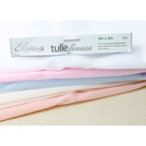 Lightweight Tulle 3mx3m Square (OTBT) Oaktree (White)