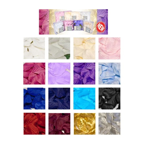 Oaktree Acetate Rose Petals 164pcs (OTPETAL) (Light Blue)