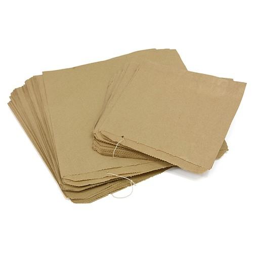 Kraft Paper Bags 7 Inchx7 Inch 1000 Bags (PB0707B)