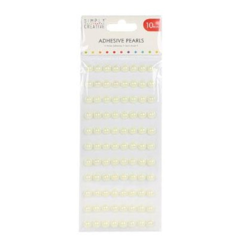 10mm Ivory Pearl Stickers (SCDOT046)