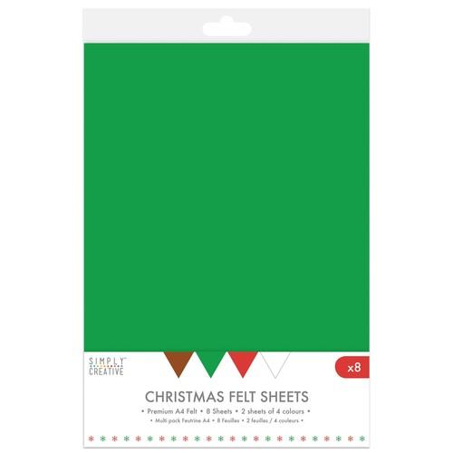 A4 Felt Christmas Mix (SCPCK008)