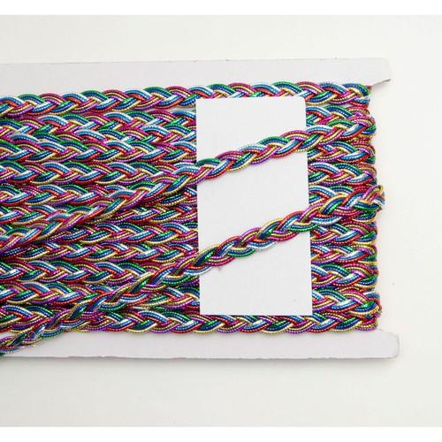10mm x 10m Rainbow Plaited Braid (SF1710)