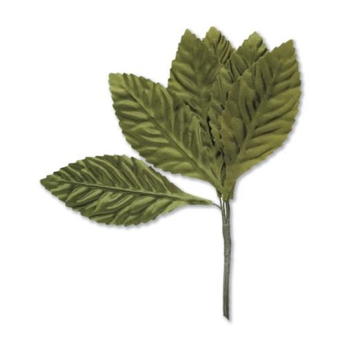 15mm Small Green Leaf x 35mm 12 bunches x 144 pcs (SH37GRN)