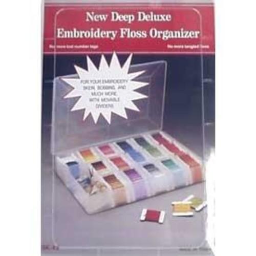 Deep Deluxe Embroidery Floss Organiser 27mm x 18mm (SK42)