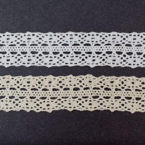 25mm x 20m Cotton Lace (SL170)