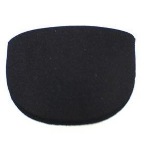 Shoulder Pads Black Covered Large 20 Pair Pack (SPLB)