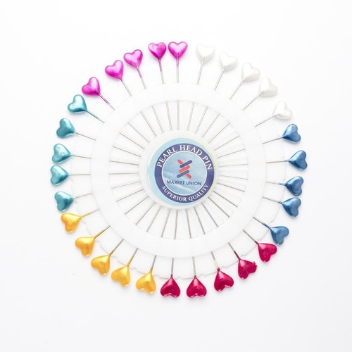 Pin Wheel Hearts Assorted 30 Piece (SS466)