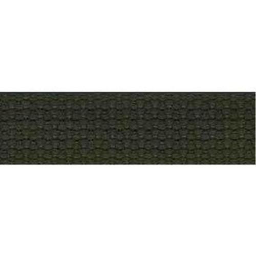 25mm Cotton Basket Weave Webbing Sage Green 9.1m (TM102)