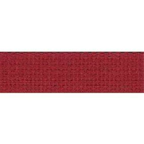 25mm Cotton Basket Weave Webbing Red 9.1m (TM96)