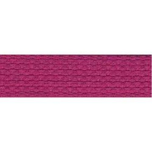 25mm Cotton Basket Weave Webbing Bright Pink 9.1m (TM98)
