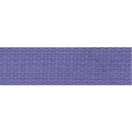 25mm Cotton Basket Weave Webbing Orchid 9.1m (TM99)