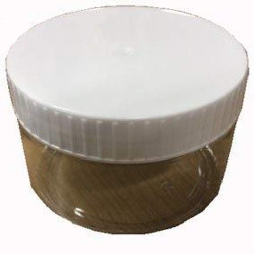 Clear plastic tub with screw lid - 500ml (TUBL)