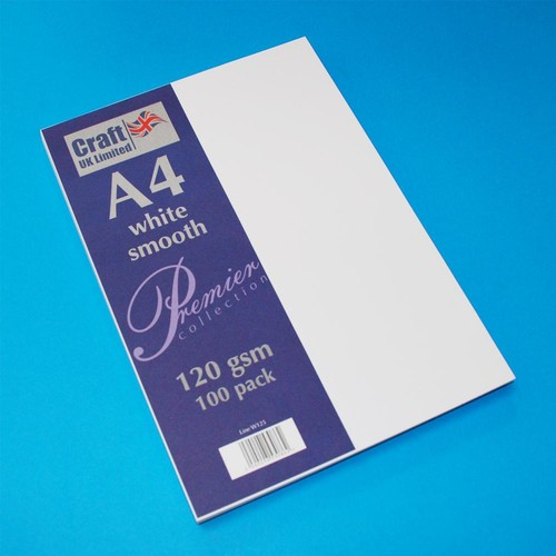 Premium A4 Papers White (W125)