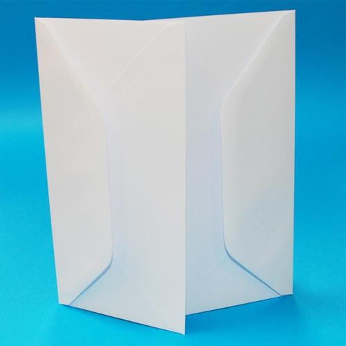 Wedding Envelopes DL White 50 Pack (W128)