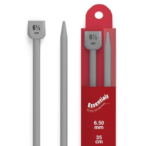 50mm Knitting Pins 6. Knobbed Pair (WKP650L) 78041